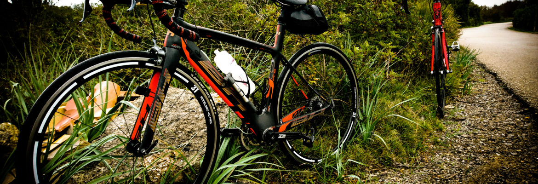 BH bike in Mallorca by a river