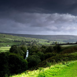 The River Swale near Reeth